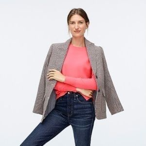 J. CREW | Merino Wool Tippi Neon Coral Sweater
